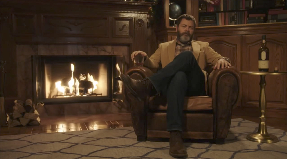 45 minutos con Nick Offerman